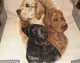 Labrador Retreiver Throw Blanket