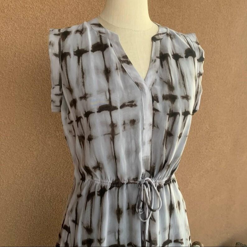 Simply Vera Vera Wang Printed Cinched Dress