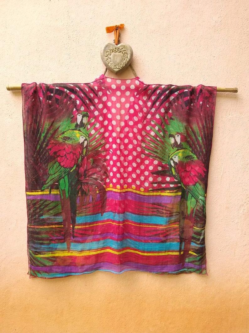 Casual poncho,plus size short caftan,free size poncho,modern poncho,loose kaftan,gift for women,100/% cotton tunic