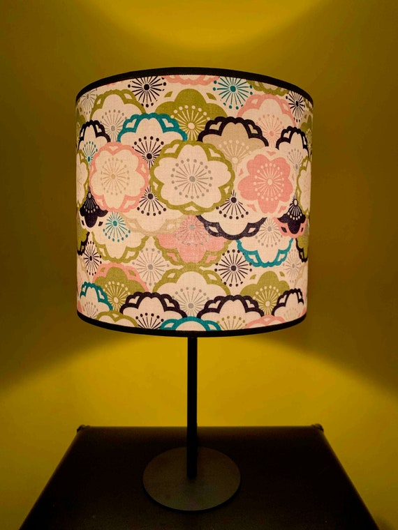 Lamp Millefiori Japanese Fabric Etsy