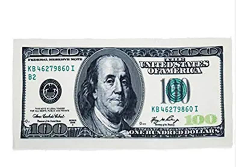 100 Bill Towl Blanket