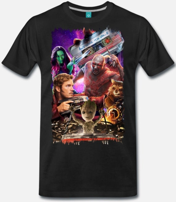 Guardians of the Galaxy Collage Suitable for the guardian in you Wear an iconic piece of the Marvel Cinematic universe.