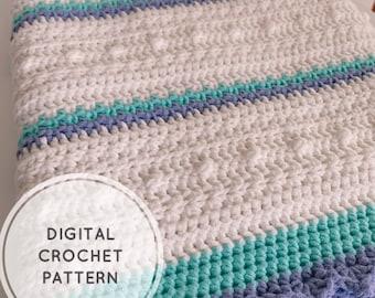The Fairy Skies Baby Blanket Crochet Pattern   DIGITAL PATTERN ONLY  