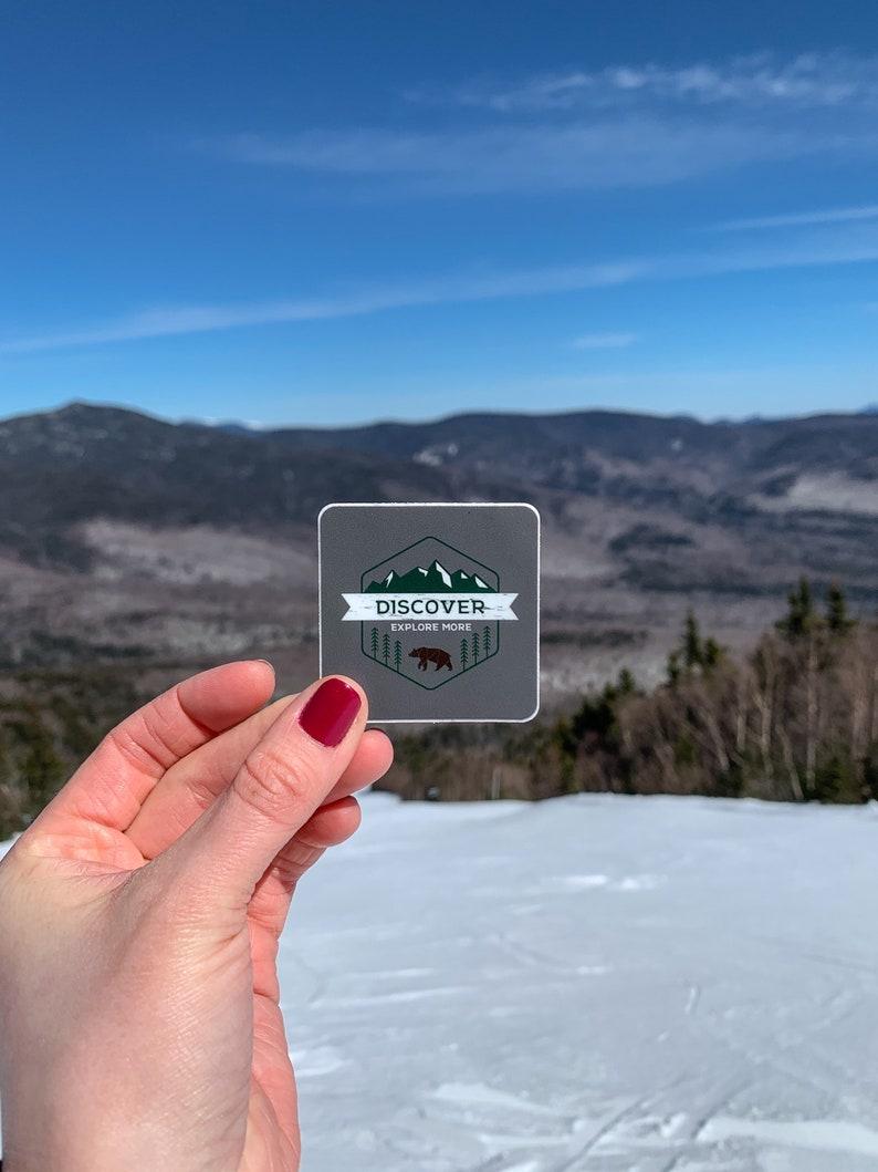 Discover Explore More Sticker  Adventure Travel Mountain image 0