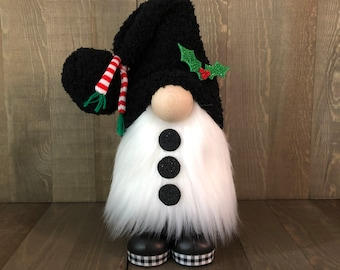 Snowman Gnome, Frosty the Snowman Gnome, Christmas Gnome, Holiday Gnome