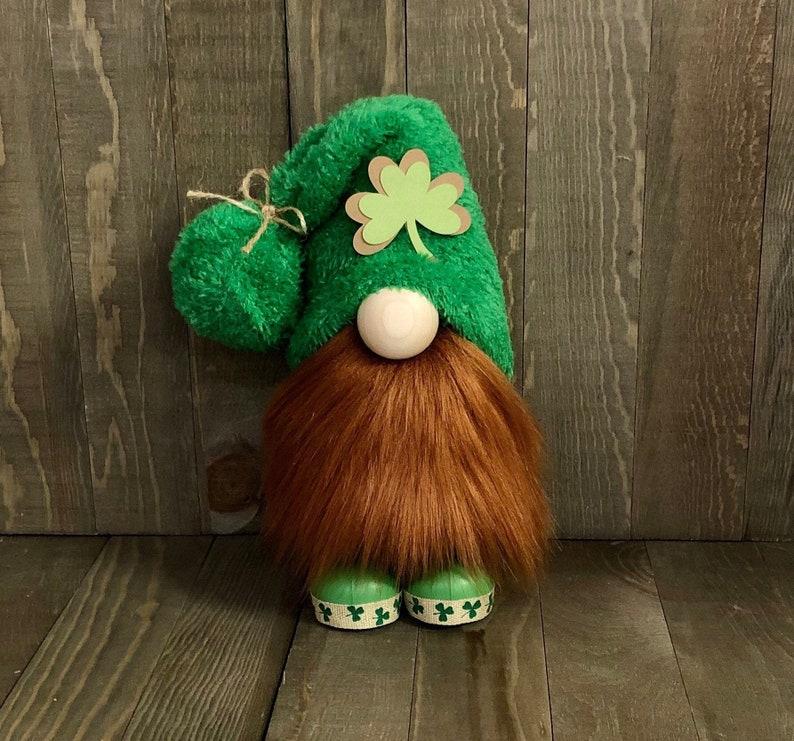 St. Patricks Farmhouse Gnome Paddys Day Gnome St.Patrick image 0
