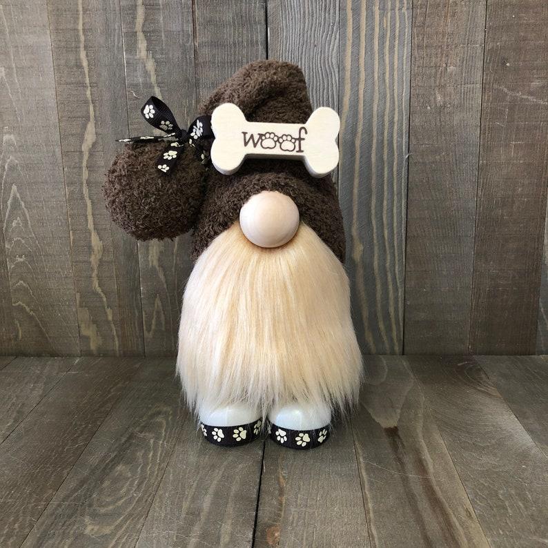 Dog Gnome Pet Gnome Brown Gnome Custom Dog Gift image 0