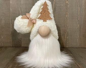 Rustic Christmas Gnome, Winter Gnome, Holiday Gnome
