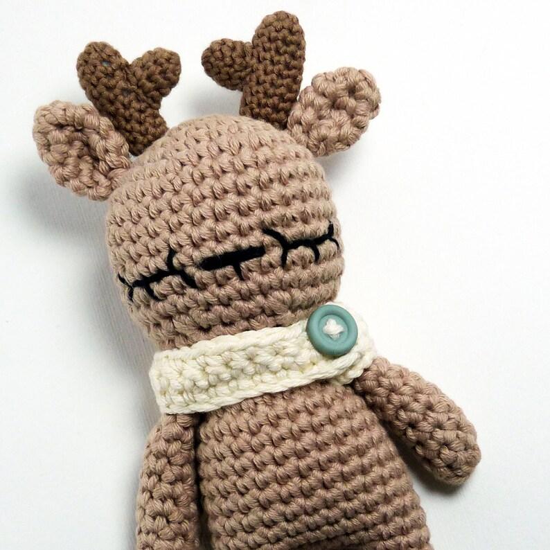 Crochet Pattern Amigurumi Reindeer PDF Tutorial
