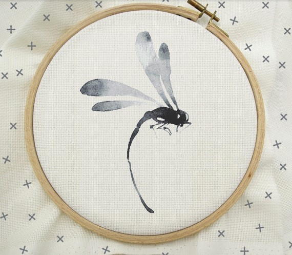pdf pattern Dragonfly