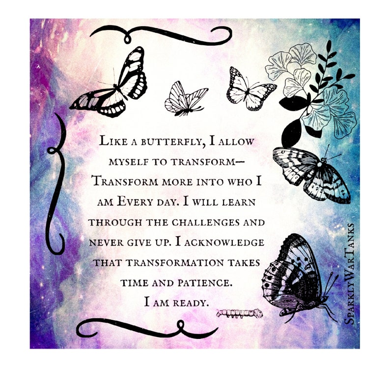 Inspirational Stickers/Laptop Stickers/Butterfly image 0