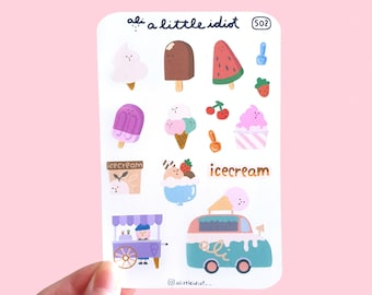 Icy Pop Sweet Tooth Sticker