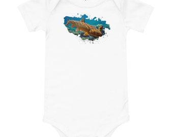 Bull Trout Baby short sleeve one piece