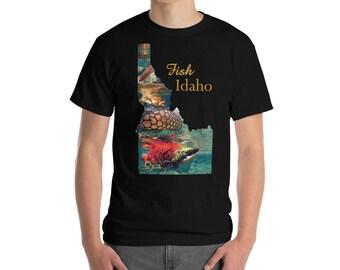 Fish Idaho Short Sleeve T-Shirt