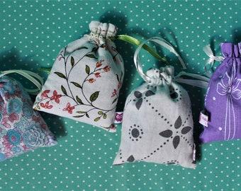 4 true lavender sachets