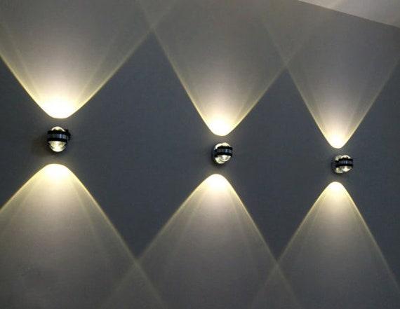 Modern Creative Led Interior Exterior Up Down Wall Lights Etsy