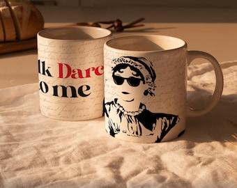 Talk Darcy to Me Mug / Jane Austen Mug / Gift for Book Lovers / Jane Austen Gifts