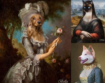 Profession Portraits . Mother/'s Day Gift Custom Profession Pet Portrait The Female Engineer Portrait Personalized Portrait