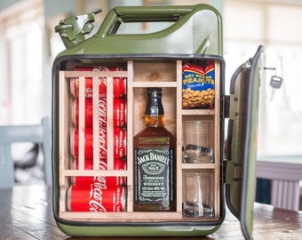 Gifts For Husband Fathers Day Anniversary Gift for Men Jerry Can Mini Bar, Unique Gifts
