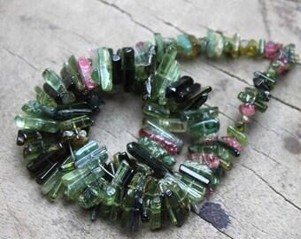 Tourmaline Sticks Pencil Beads