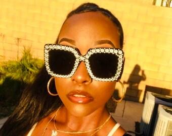 Bling Sunglasses Etsy