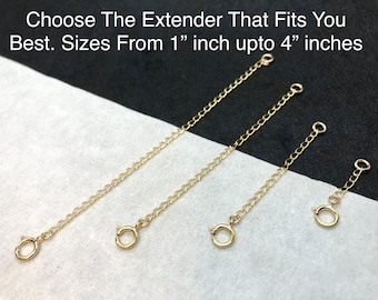 Choice of 3 inch Jewelry Extender