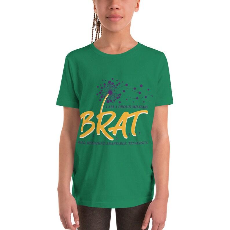 BRAT Youth Short Sleeve T-Shirt image 0