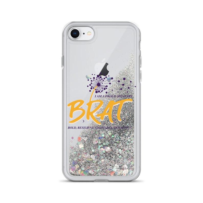 Brat Liquid Glitter iPhone Case image 0