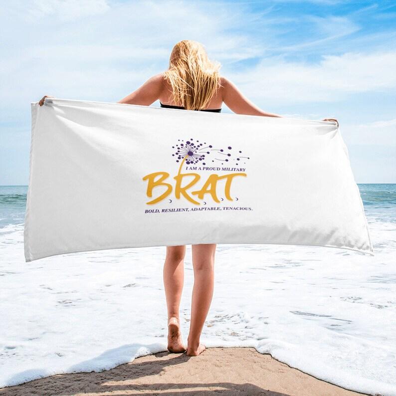 BRAT Beach Towel image 0