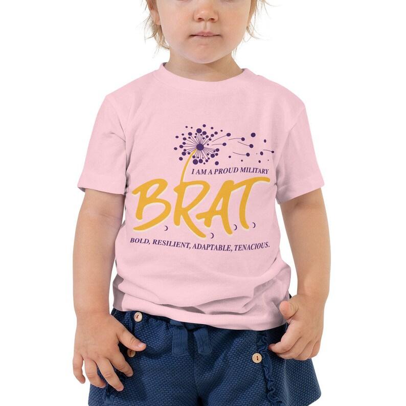 BRAT Toddler Short Sleeve Tee image 0