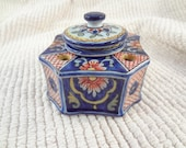 Antique French Porcelain Inkwell