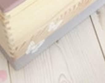 Memory box Toy box Storage box Wooden box Gift idea for baptism Birth Wedding Communion