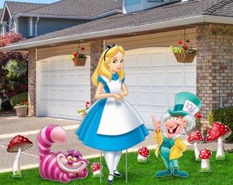 Alice In Wonderland Decor Etsy