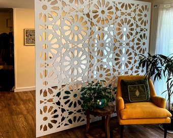 Room divider | custom panels | privacy screen | privacy panels | space dividers | decorative panels | wall panels | wall art panels | divide
