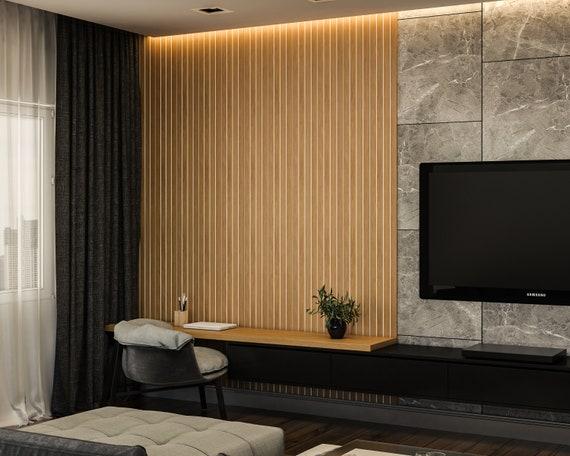 3D wall wood slats | Decorative wall panel wood slats | wall decor wood slat | wood slats | slats wall | wall panel | wood slats panel wall
