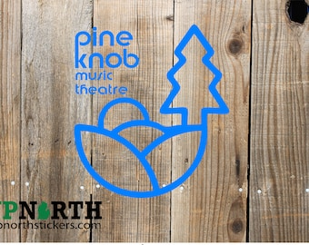 Pine Knob - Music Theatre -  Custom Vinyl Decal - Wall or Vehicle Decal - Multiple Sizes and Colors - Free Shipping