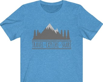 UpNorth Tee - Travel - Expore - Share