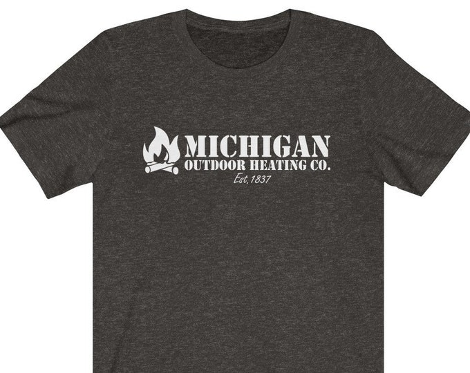 UpNorth Tee - Michigan Outdoor Heating Co. (white)