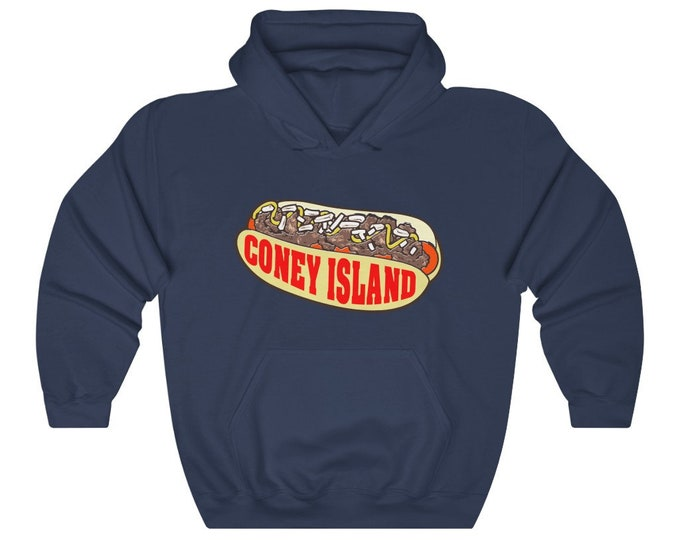UpNorth Hoodies - Coney Island Hot Dog - Michigan Traditions - Standard Print
