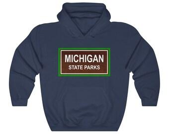 Hooded Sweatshirt - Michigan State Parks