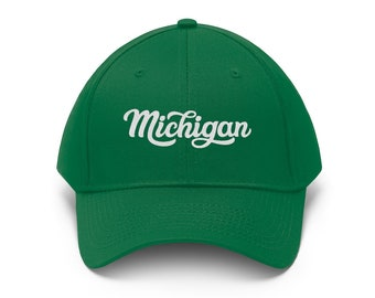 Adjustable Hat - Michigan Cursive
