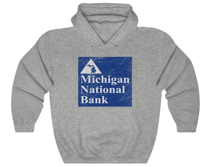 UpNorth Hoodies - Michigan National Bank - Vintage Print