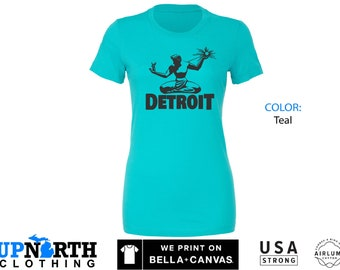 Women's Tee - Spirit of Detroit - Detroit Michigan Women's T-Shirt - Free Shipping