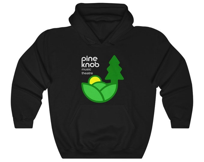 UpNorth Hoodies - Pine Knob Music Theatre - Michigan Nostalgia - Hooded Sweatshirt - Tall Sizes Available
