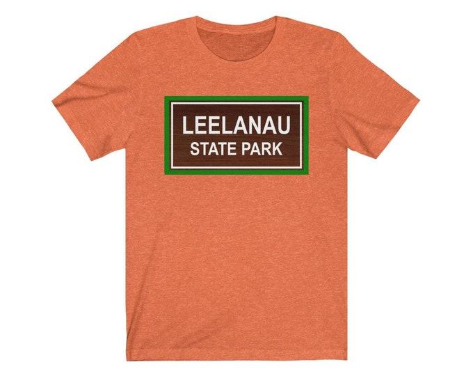 UpNorth Tee - LEELANAU (Michigan State Parks) - Leelanau Michigan - Free Shipping