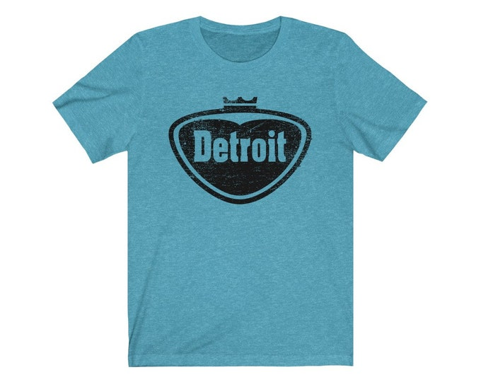 UpNorth Tee - Detroit Pop Style Logo (Vintage Print) Faygo Style Detroit Logo