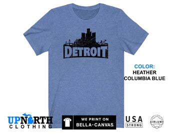 UpNorth Tee - DetroitNITE - Detroit Gamer Shirt - Free Shipping