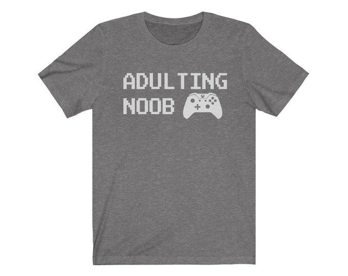 UpNorth Tee - Adulting NOOB - V2 (GAMER EDITION)