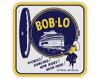 UpNorth Stickers - Boblo Island - Port Hole (Vintage Michigan Collection)