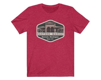 UpNorth Tee - Eastern Market - Detroit Michigan (Standard Print)